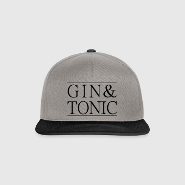 Gin tonic bar - Casquette snapback