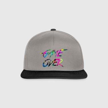 rainbow Game over - Snapback Cap