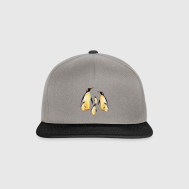 pingouins famille - Casquette snapback