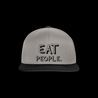 Eat People - Snapback Cap
