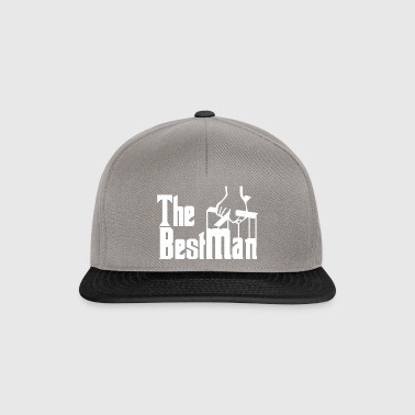 The Best Man. Stag Party. Gifts for The Best Man. - Snapback Cap