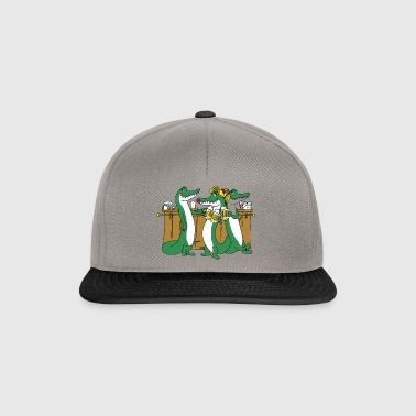 Crocodiles at the bar - Snapback Cap