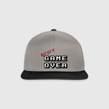 Never game over white - Snapback Cap