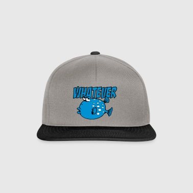 Whatever Fish - Snapback Cap