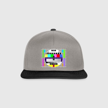 Testbild test card status no signal screen Display - Snapback Cap