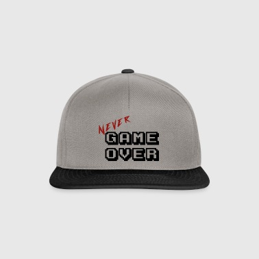 Never game over transparent - Snapback Cap