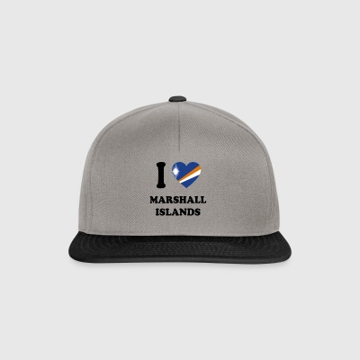 i love home land geschenk MARSHALL ISLANDS - Snapback Cap