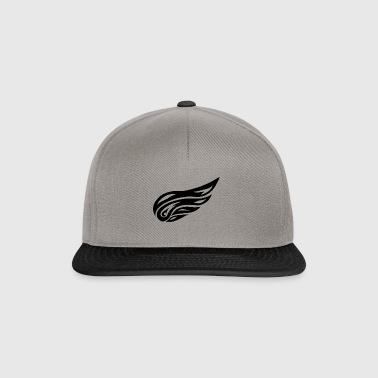 tribal wing - Snapback Cap