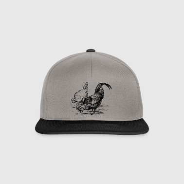 chicken farm - Snapback Cap