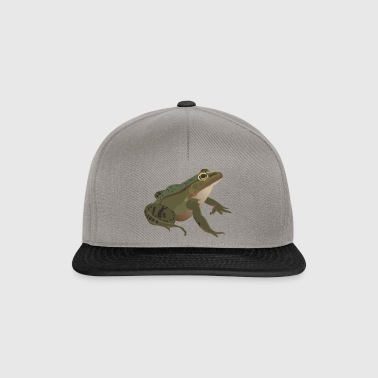Grenouille M. Grenouille crapaud crapaud idée grenouille - Casquette snapback