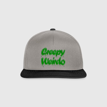 Green Gloop Creepy Weirdo - Snapback Cap