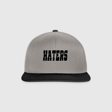haters - Snapback cap