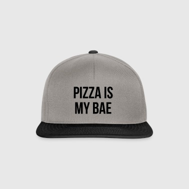 pizza is my bae - Snapback Cap