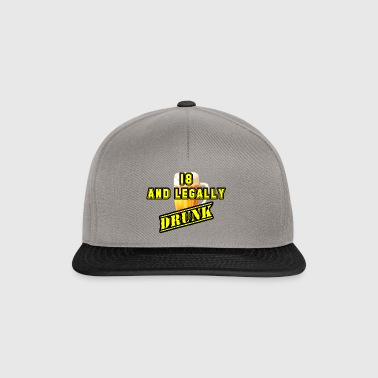 18th (yellow) - Snapback Cap