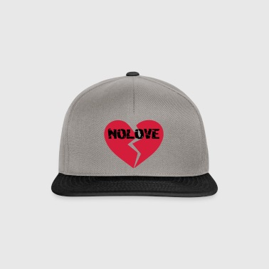 NoLove | No Love Broken Heart - Snapback Cap