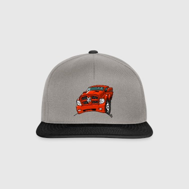 0569 dr red - Snapback Cap
