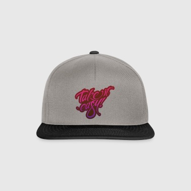 Take it easy rosa viola - Snapback Cap