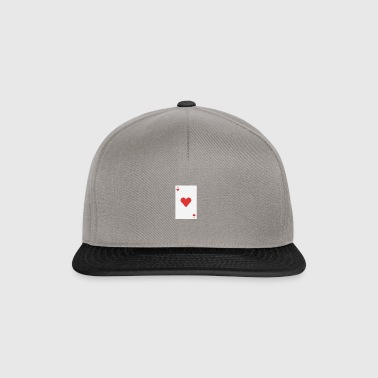 poker card - Snapback Cap