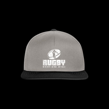 Rugby No Helmets No Pads Bare Balls Gave - Snapback-caps