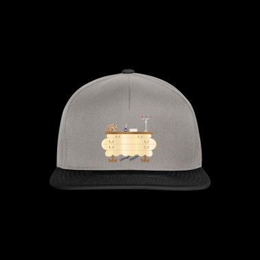 Vintage objects, also as a gift idea - Snapback Cap