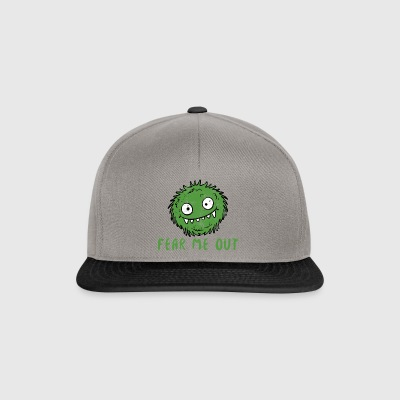 Alien / Area 51 / UFO: Fear Me Out - Monster - Snapback Cap