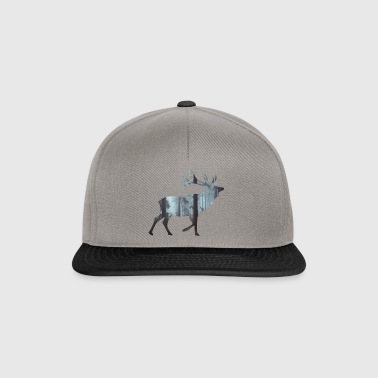 Deer Silhouette - Casquette snapback