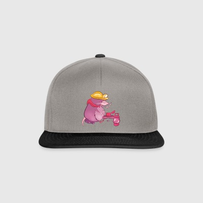 taupe - Casquette snapback