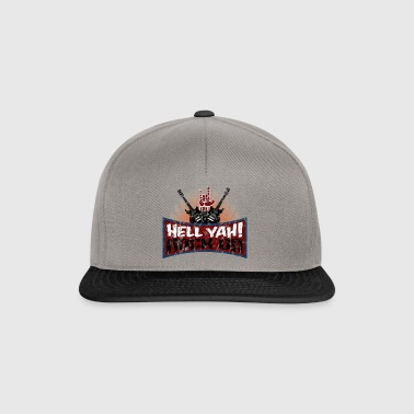 Enfer Yah! Rock on - Musique - Hard Rock - Casquette snapback