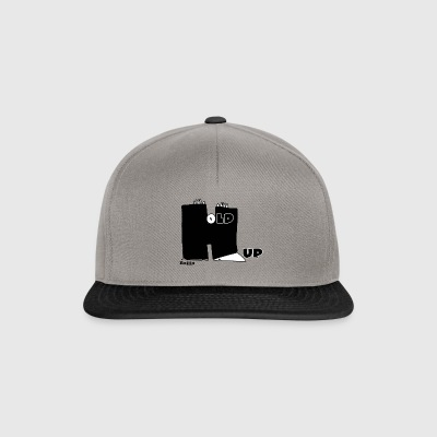Enillo Hold Up Grafik & Typographie - Snapback Cap