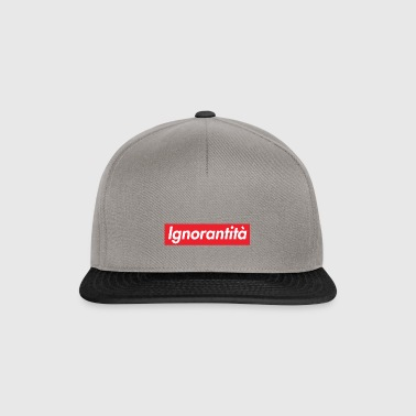 Ignorantità Arena Ignorant - Snapback Cap