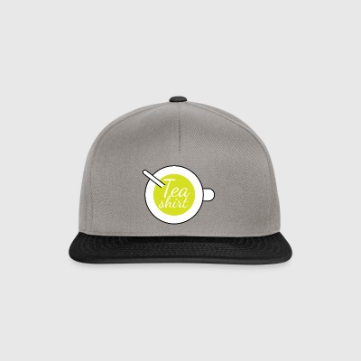 Tea Shirt -  - T-Shirt with teacup - Snapback Cap