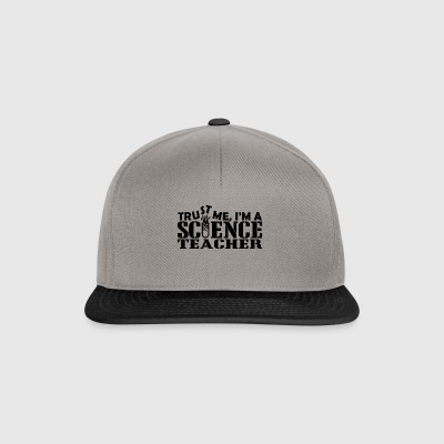 trust me science teacher - Snapback Cap