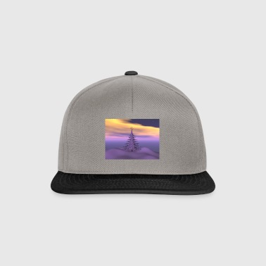 firetree_and_snow - Snapback Cap