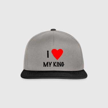 I Love My KING - Snapback Cap