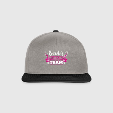 JGA - BRIDE DRINKING TEAM - Snapback Cap