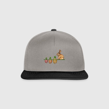 Happy Easter bunny with Ostermöhrchen - Snapback Cap