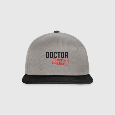 Doctor / Doctor: Doctor - Always On Duty - Snapback Cap
