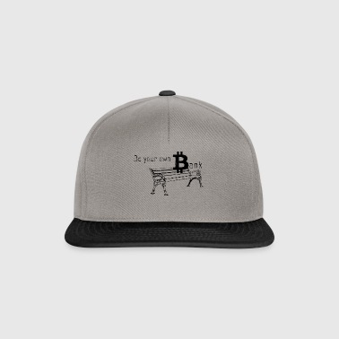 Bitcoin Bank - Snapback Cap