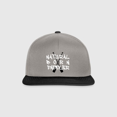 Natural Born Paddler Canoe - Snapback Cap