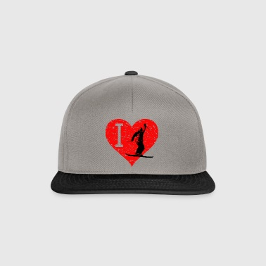 I Love Freestyle Ski 3 - Snapback Cap