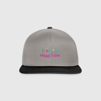 Easter Happy Easter Eggs - Snapback Cap
