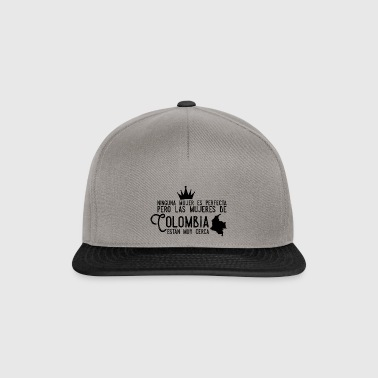 Colombia, Colombian woman design - Snapback Cap