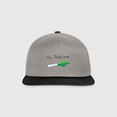 Lauch: Yep, that's me [Black Edition] - Snapback Cap