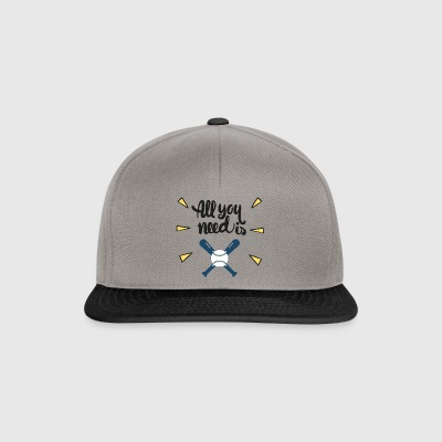 All you need - Snapback Cap
