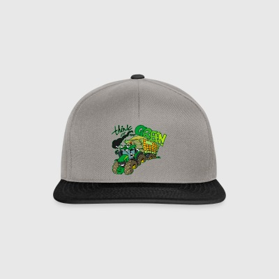 Think green border - Snapback Cap