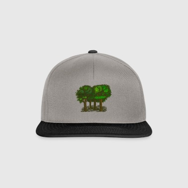 forêt - Casquette snapback