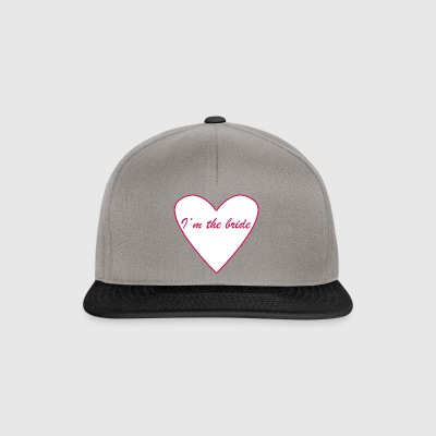 I'm the bride - Snapback Cap