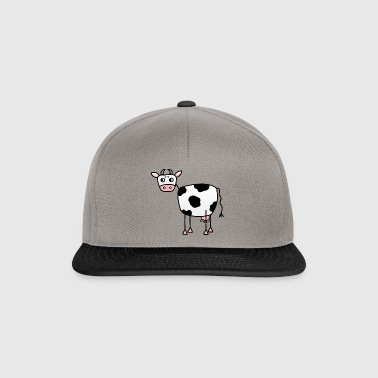 Funny cow with udder - Snapback Cap