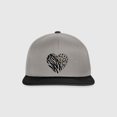 ANIMAL HEART - Snapback Cap