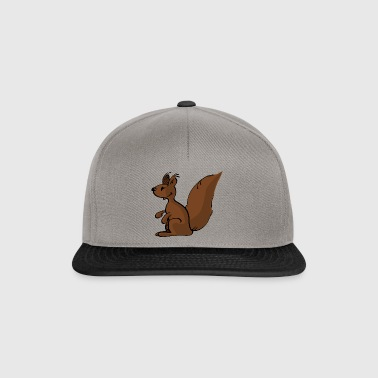 squirrel eichhoernchen rodents nager animal tiere - Snapback Cap